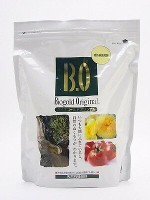 Japanese Fertilizer BIOGOLD ORIGINAL Natural Organic Plant Bonsai Food Japan B.O