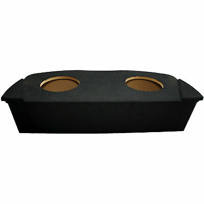 "2003-2008 Fits Nissan 350Z Coupe Dual 10"" Rear Hatch Subwoofer Enclosure Sub Box"