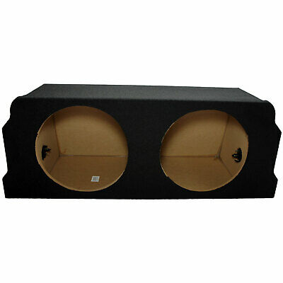"2004-2008 Mazda Rx-8 Trunk Dual 12"" Bass Stereo Subwoofer Enclosure Sub Box New"