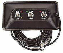 Peavey TRANSTUBE SPECIAL 212 FOOTSWITCH 3 Button 7-Pin Din Switchs 3376410 New