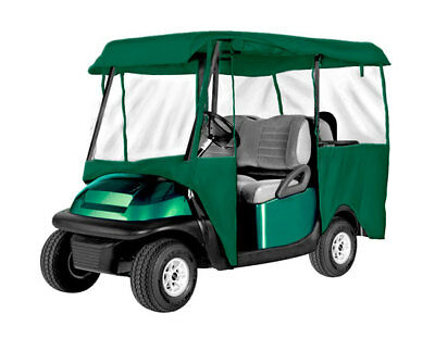 Armor Shield 4 Passenger Golf Cart 4 Sided Enclosure Olive Color