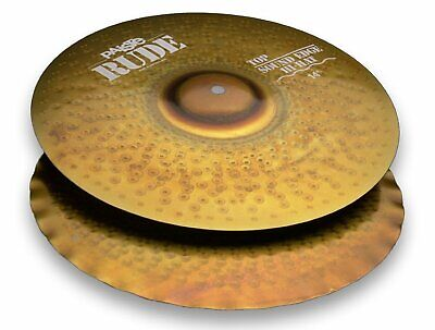 """Paiste 1123214 Rude Series 14"""" Sound Edge Top Hi-Hat Cymbal W/ Lively Intensity"""