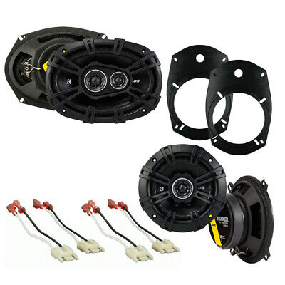 Fit Dodge Ram Truck 1994-2001 Factory Speaker Upgrade Kicker DSC693 DSC5 Package