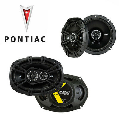 Fit Pontiac G6 2005-2008 Factory Speaker Replacement Kicker DSC65 DSC693 Package