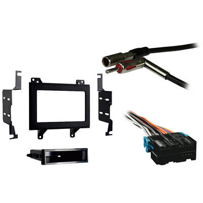 FITS CHEVY S-10 Pickup 94-97 Double DIN Stereo Harness Radio Install Dash  Kit