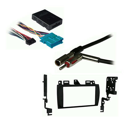 Fits Cadillac DeVille 2000-2005 Double DIN Car Harness Radio Install Dash Kit