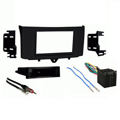Fits Smart Fortwo 2011-2013 Multi DIN Stereo Harness Radio Install Dash Kit