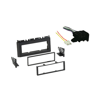 Fits Chevy Caprice 1985-1990 Single DIN Stereo Harness Radio Install Dash Kit