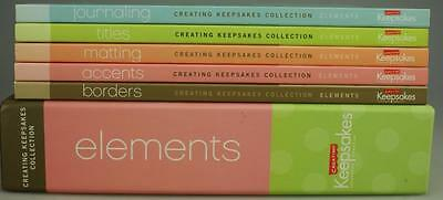 Creating Keepsakes Coll Books on Journaling Titles Matting Accents Borders JW1