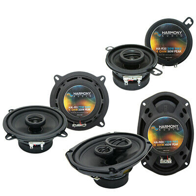 Chrysler Concorde 1993-1997 Factory Speaker Upgrade Harmony Speakers Package New