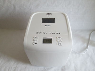 Philips HD9015 Brotbackautomat Daily Collection 12 Pr. 1000 g. Weiss