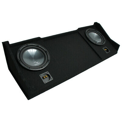 "1998-2001 Dodge Ram Ext Club Quad Truck Harmony R104 Dual 10"" Sub Box Enclosure"