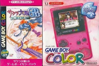 Sakura Wars GB GameBoy Color Pack GBC Nintendo Japan Game Boy Rare Body only