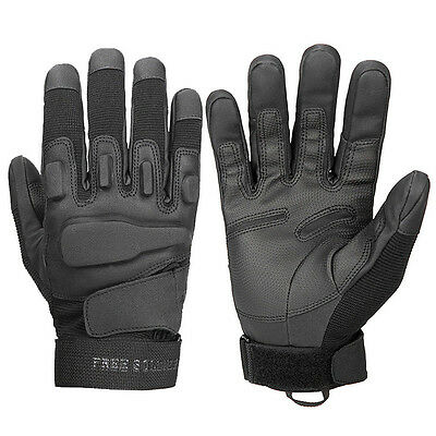 Free Soldier MEN Black Hawk Military Tactical Airsoft Hunting Full Finger Gloves