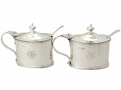 Sterling Silver Mustard Pot - Antique George III