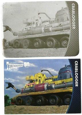 Thunderbirds 50 Years Printing Plate for Base Card #29 Crablogger