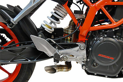 GP Slip On Exhaust Competition Werkes WKT390 for 15-16 KTM RC390