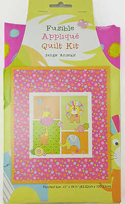 Fusible Quilt Kit Jungle Animals