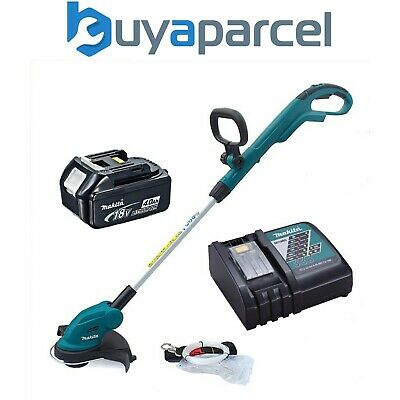 Makita DUR181 18v LXT Lithium Ion Cordless Grass Line Trimmer, 4.0ah + Charger