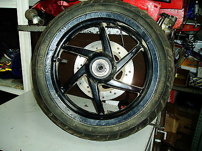 Piaggio nrg 50 Front Wheel, Tyre and Disc  Maxxis 120/70-13