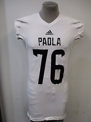 Paola Kansas Men TechFit adidas Authentic Jersey Multiple #'s A15