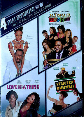 Love & Laughs Collection - 4 Film Favorites - Wb - 2010 Dvd - Still Sealed