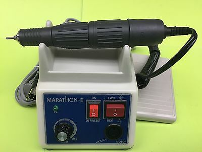 USA Marathon  Polishing Unit Electric Dental Lab 35K RPM Micromotor Handpiece