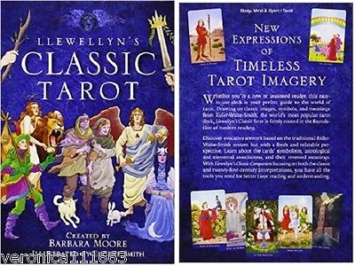 Llewellyn's Classic Tarot NEW Sealed 78 Card Book 264 pg B. Moore & E. Smith