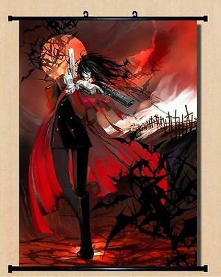 Japanese Anime Hellsing Alucard Home Decor  Wall poster Scroll  60*90CM E38
