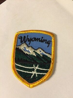 Vintage Patch Wyoming State Patch