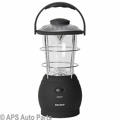 16 LED Dynamo Camping Lantern Portable Lightweight Camping Fishing Outdoor