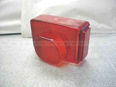 Replica Lens for Lucas 917 Rear Lamp Triumph T140 TR7 750 1973 to 1983 54584930
