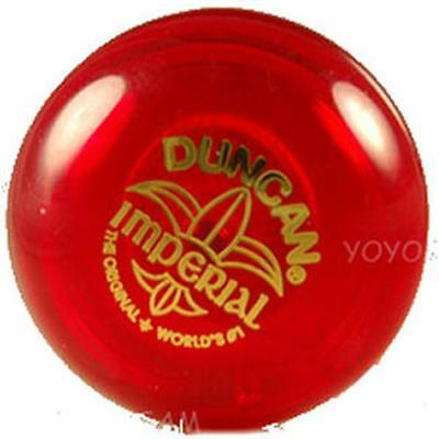Duncan Imperial Yo-Yo- Red - Includes extra strings!