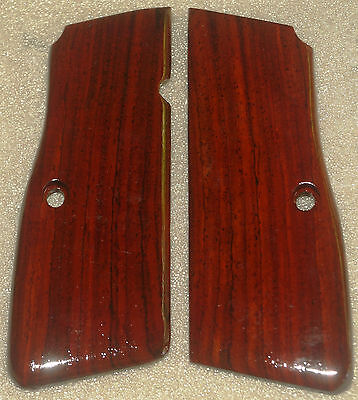 Browning High Power Grips Cocobolo Wood F-9