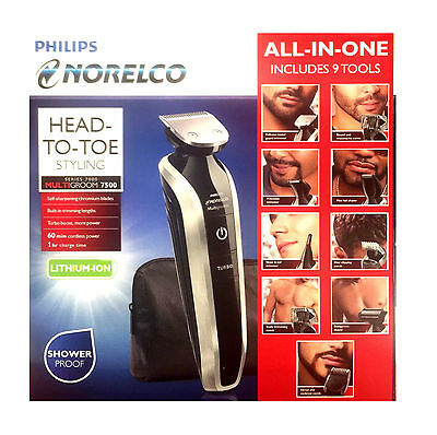 Philips Norelco Multigroom Full Body Beard Eyebrow moustache trimmer Hair Shaver