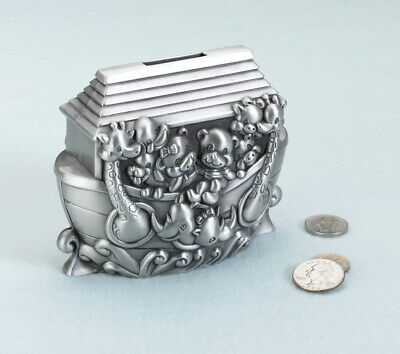 Noah'S Ark Pewter Bank