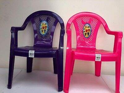 Opif-Indoor/outdoor-Set Of 2-Toddlers-Kids Plastic Stacking Chairs-Bunny-Girls