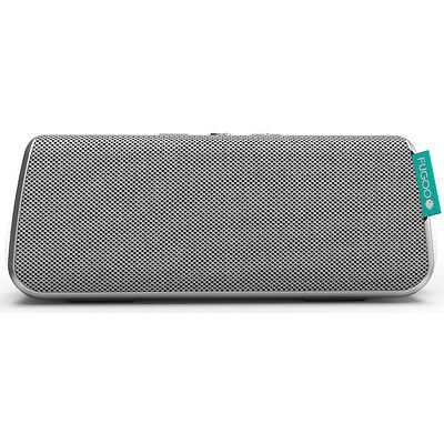 Fugoo Style Portable Waterproof Speaker with Bluetooth - Silver (F6STSS01)