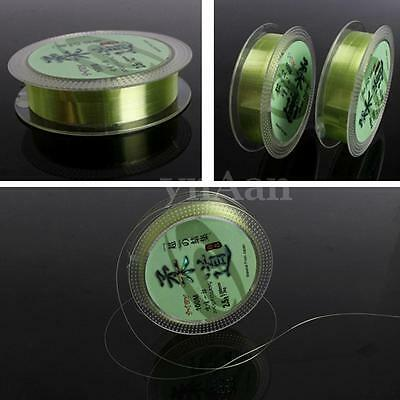 Nylon Transparent Fluorocarbon 100m Strong Durable Fishing Tackle Lines 1.0-5.0