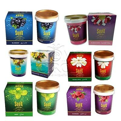 Soex Assorted Flavours Bulk Buy 250grams Authentic Herbal Molasses Hookah Shisha
