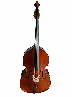 """Double Bass """"full-carved"""" 4/4 size new violin-style"""