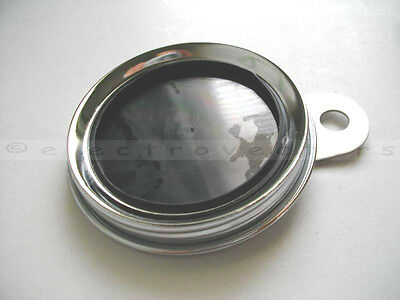 Polished Stainless Classic Style Bike Tax Disc Licence Holder