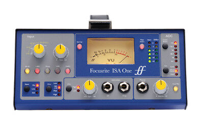 Focusrite ISA ONE Portable Microphone/Instrument Preamp w/ Independent DI New