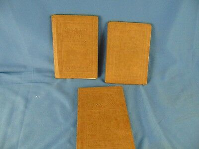 3 Antique books An Evening with Scott Tennyson Lamb The Nutshell Library collect