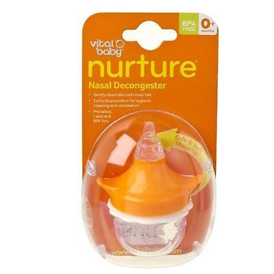 Vital Baby Aspirateur Nasal - During early stages, baby will breathe NEUF