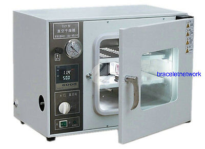 220V Digital Vacuum Drying Oven Cabinet 250℃ Working Room 300x300x275mm