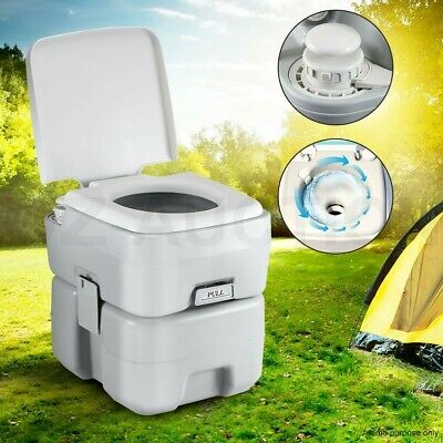 20L New Water Tank Portable Toilet Outdoor Camping Potty Caravan Travel Boating
