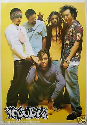 "Incubus ""group Standing With Brandon Boyd Squatting"" Commercial Poster"