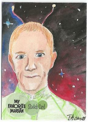 My Favorite Martian Sketch Card created by Sue Thomas  [ A ]