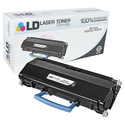 TCT Premium Compatible Toner Cartridge Replacement for Lexmark X203A21G Black Works with Lexmark X203N X204 - 4 Pack 2,500 Pages X204N MFP Printers